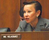 Nydia Velázquez presiding over the Small Business Committee