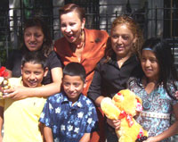 Nydia Velázquez with NY-12 kids and mothers